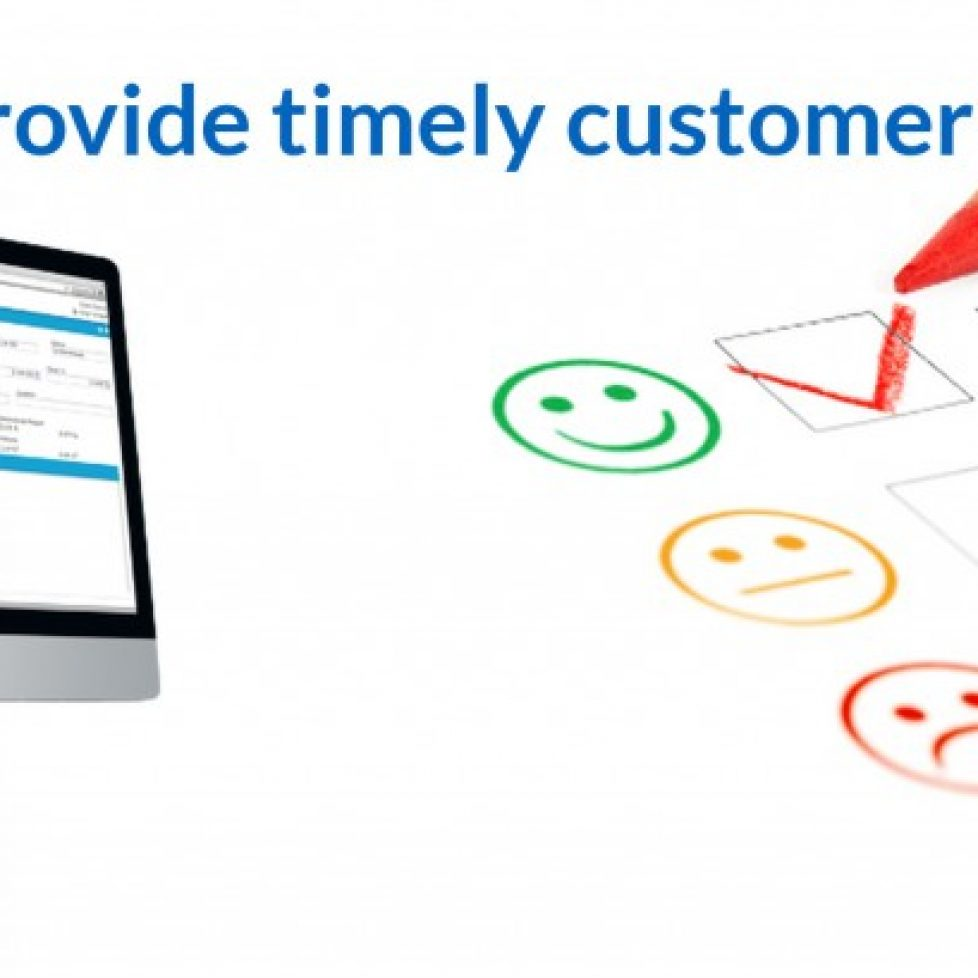 eCourierManagement provides timely customer service