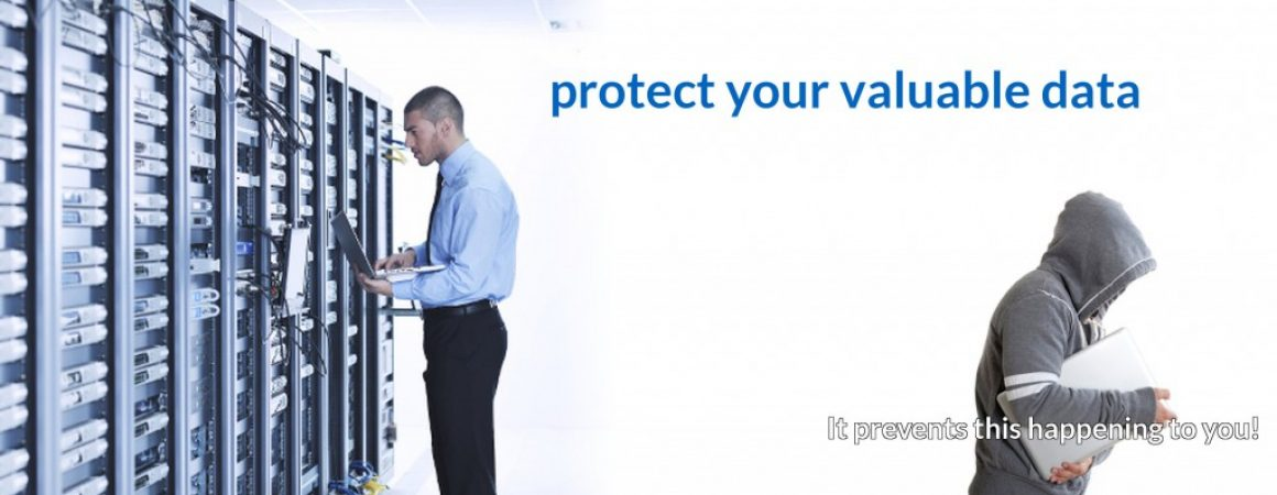 eCourierManagement protects your valuable data